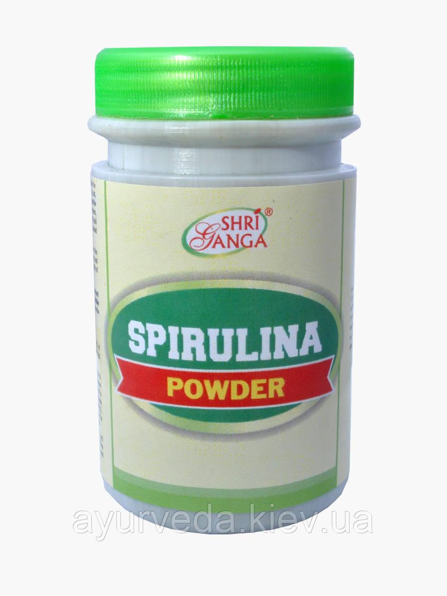Спирулина, натуральные витамины, микроэлементы, все что нужно для здоровья, Spirulina (100gm)
