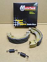 Тормозные колодки задние Honda Dio барабаные MotoTech, фото 1