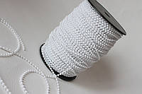 Декоративная жемчужная нить для скрапбукинга белого цвета, фото 1