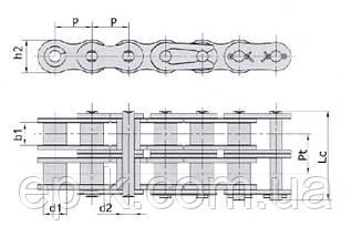Цепи 2НП-25,4 (ANSI В29.1М - 80-2), фото 2