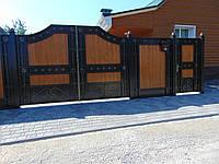 Ковані ворота В-54