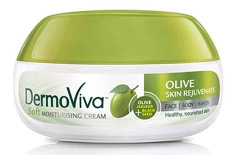"""Восстанавливающий крем для лица Dabur DermoViva """"Олива"""", фото 2"""