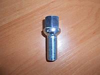Болт M14X1,50X35 Цинк Сфера с выступом ключ 17 мм