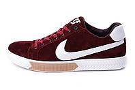 Мужские кожаные кеды Nike Chery