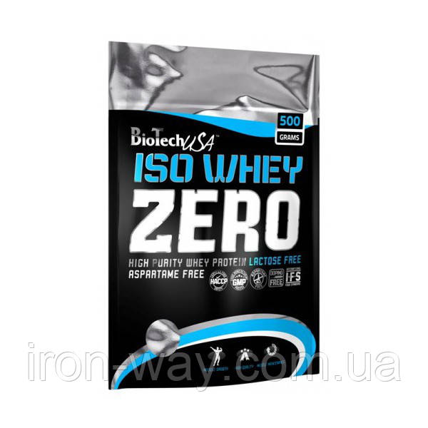 BioTech USA Iso Whey Zero 500 g Клубника