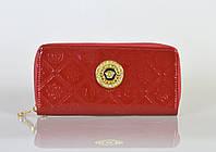 Кошелек Versace красный
