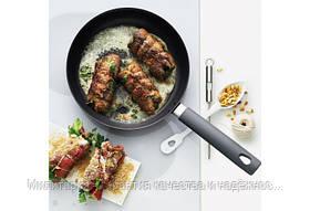 Сковорода с крышкой Fiskars Hard Face 26 см (1020890), фото 2