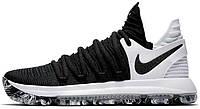 Баскетбольные кроссовки Nike KD 10 Black White