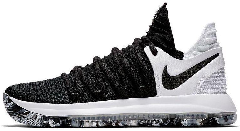 dfadacb8 Баскетбольные кроссовки Nike KD 10 Black White - Магазин обуви с хорошими  ценами в Киеве