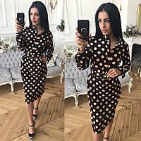 1a20fc7453b Платье в горошек с длинным рукавом в Украине. Сравнить цены