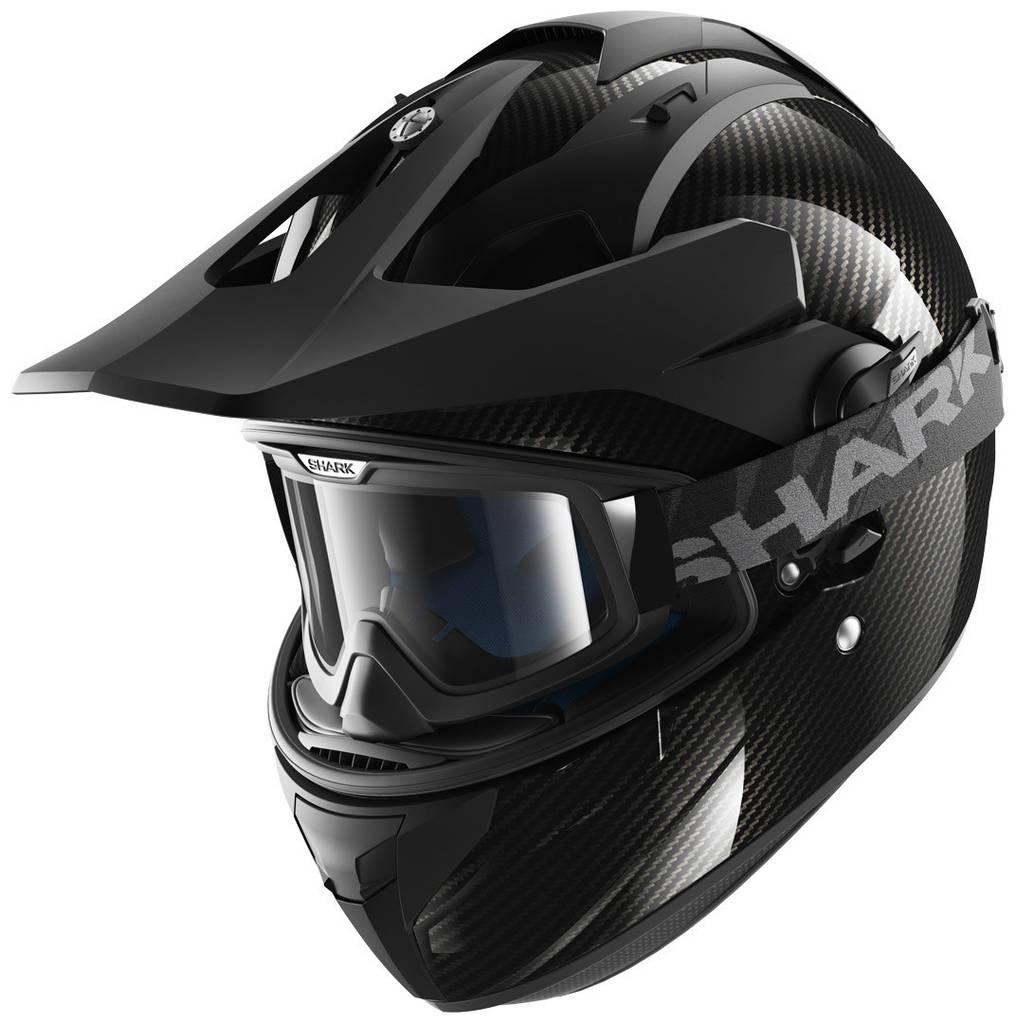 Шлем Shark Explore-r Carbon Skin р.XL, черный