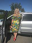 Ділове плаття батал літній бавовна Марокко Пл 105-6 батал 50-56, фото 3