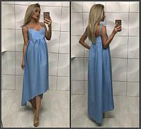 """Длинное платье """" Коттон """" Dress Code , фото 1"""