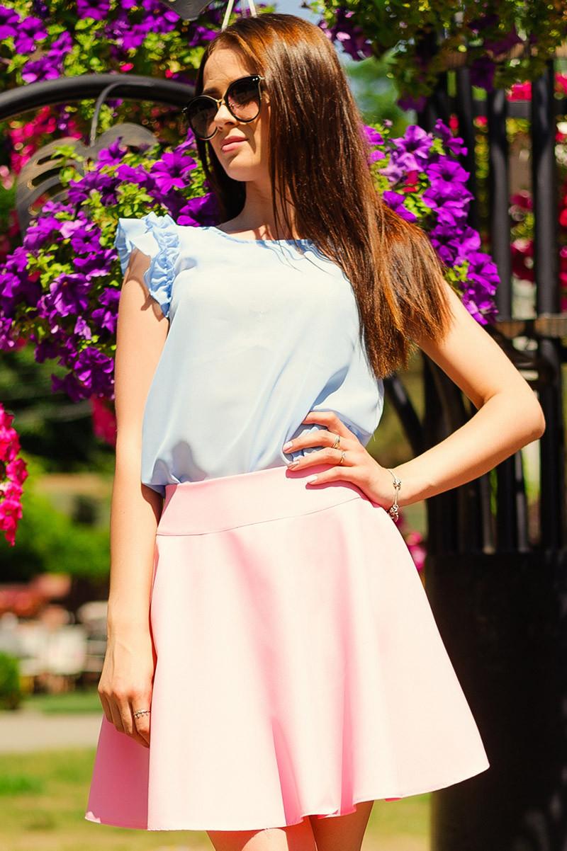 "Розовая летняя юбка ""BURBERRY"""