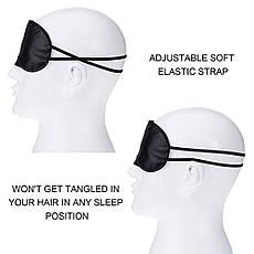 KATTI Повязка Classic Eye Shade Mask черная, фото 3