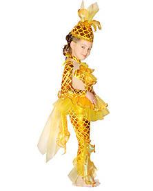 Золотая рыбка. Комплект - брюки, кофта, юбка, головной убор (652)