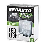 BOL0903L Доп LED фара BELAUTO 1800Лм (точечный), фото 3
