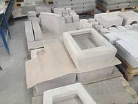 Изделия из огнеупорного бетона