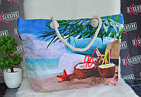 Летняя пляжная сумочка Карибы., фото 1