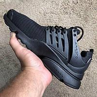 Nike Air Presto All Black, фото 1