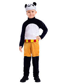 Панда Кунг-фу. Комплект - брюки, кофта, головной убор (2149)
