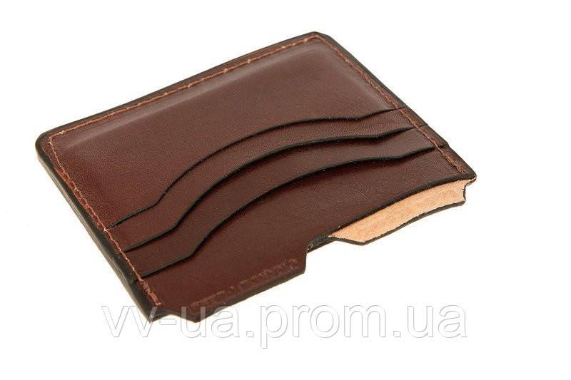 Картхолдер Grande Pelle, коричневый 307620, кожа