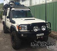 Расширители колесных арок 5cm - KUT SNAKE - Toyota Land Cruiser 78