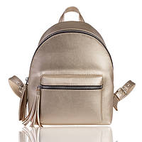 Рюкзак золотистый М