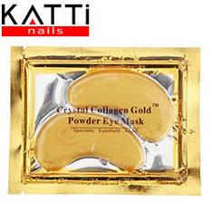 KATTI - Патч под глаза Crystal Collagen Gold Powder Eye Mask с био золотом и коллагеном 6мл 2шт