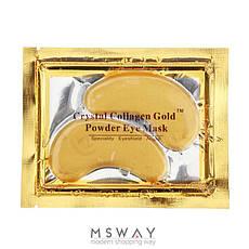 KATTI - Патч под глаза Crystal Collagen Gold Powder Eye Mask с био золотом и коллагеном 6мл 2шт, фото 3