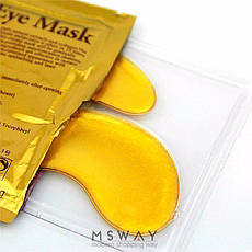 KATTI - Патч под глаза Crystal Collagen Gold Powder Eye Mask с био золотом и коллагеном 6мл 2шт, фото 2