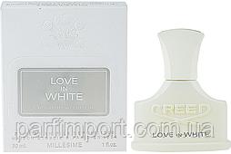 CREED MILLESIME LOVE IN WHITE EDP 30 ml  парфумированная вода женская (оригинал подлинник  )