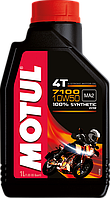 Масло моторное синтетическое для мотоцикла Motul 7100 4T 10W50, 1л