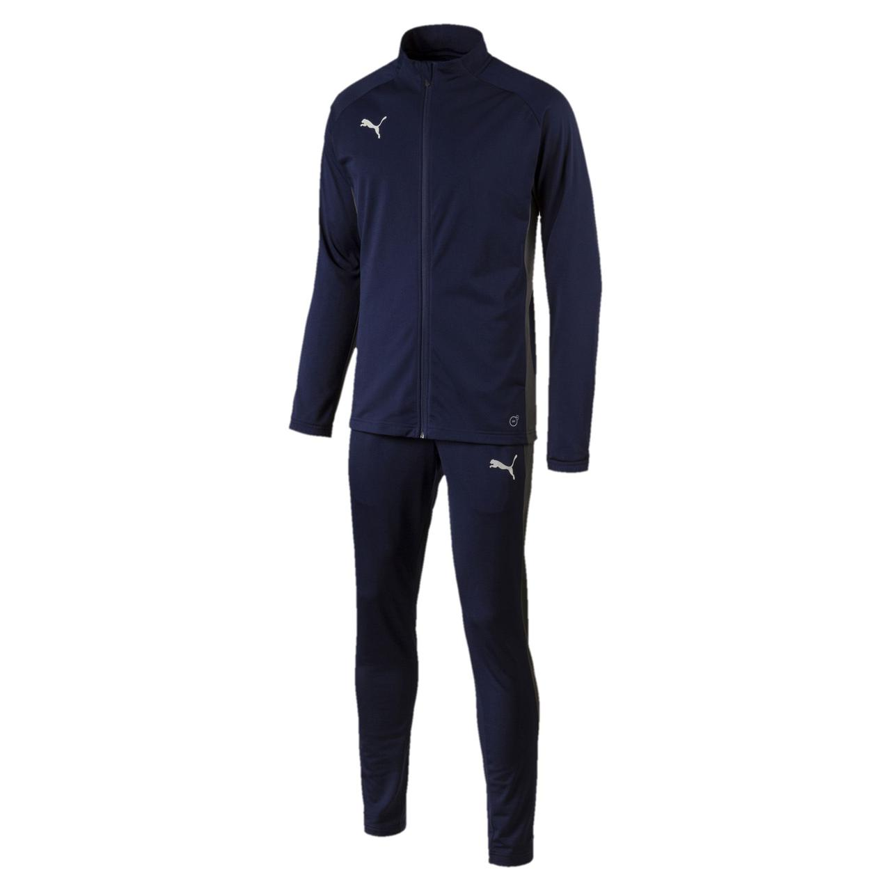 6e2fd62a28b8 Купить Костюм спортивный мужской Puma ftblNXT 655580 03 (темно-синий,  полиэстер, для ...