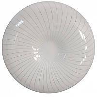 """LED Светильник накладной потолочный DEKORA """"Лабиринт"""" НББ18260-01 IP20 12W 4000K 260мм 700Lm (белый, выпуклый)"""