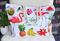 Женская летняя пляжная сумочка Tropica., фото 1