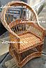 Кресло плетеное для дачи