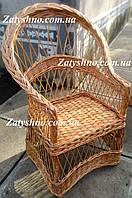 Кресло плетеное для дачи, фото 1