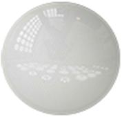"""LED Светильник накладной потолочный DEKORA """"Классик"""" НББ19395-02 IP20 24W 4000K 395мм 1260Lm (белый, с вмятинкой внутри)"""