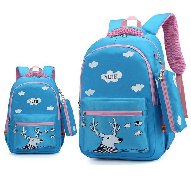 49987e5a247 Школьный рюкзак с Оленем