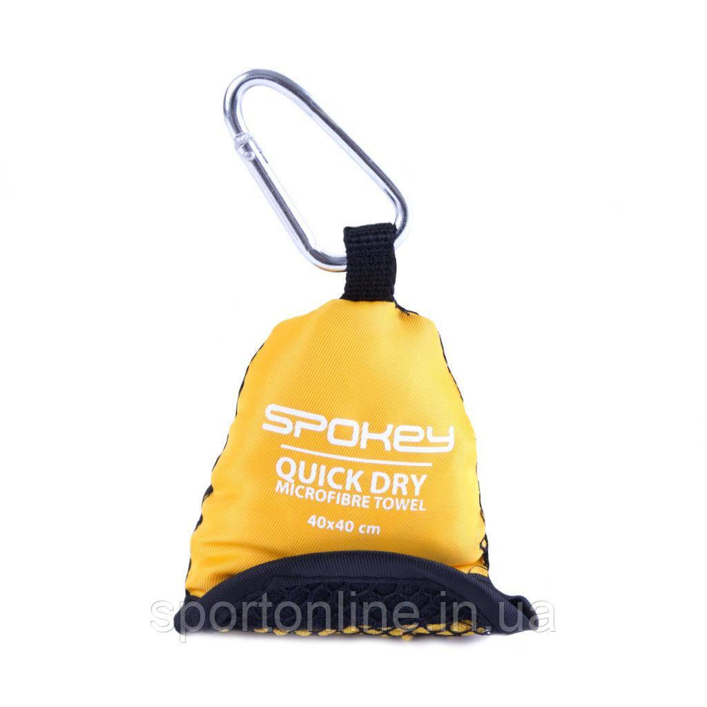 Охлаждающее пляжноеспортивное полотенце Spokey NEMO 40х40 (original), для спортзала, быстросохнущее