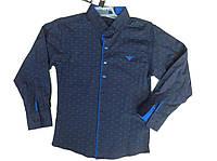 Стильная рубашка для мальчика в расцветке