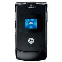 Кнопковий телефон розкладачка Motorola RAZR V3 (новий, оригінал) 2019 корпус з металу, фото 1