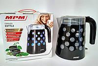 Чайник электрический MPM MCZ-86/С black 1,7 л, фото 1