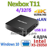 Mini PC Nexbox T11 4GB/32GB Windows 10 Intel Z8350