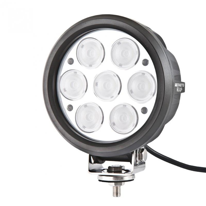 BOL0710F Доп LED фара BELAUTO 5600Лм (рассеивающий)