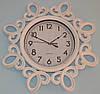 Интерьерные настенные часы фигурные (white 51 см.)