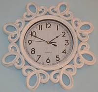 Интерьерные настенные часы фигурные (white 51 см.), фото 1