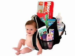 Что взять с собой в путешествие с ребенком?