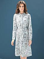 Женское платье-рубашка с принтом от DZAN